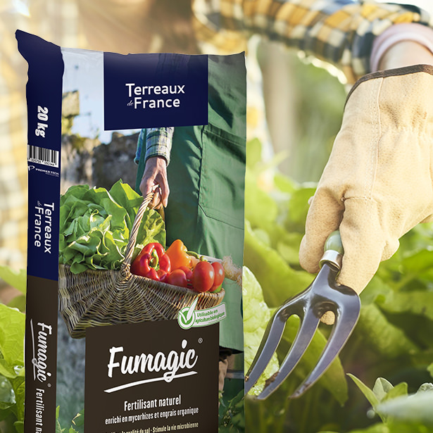 FUMAGIC®, l'amendement-fertilisant